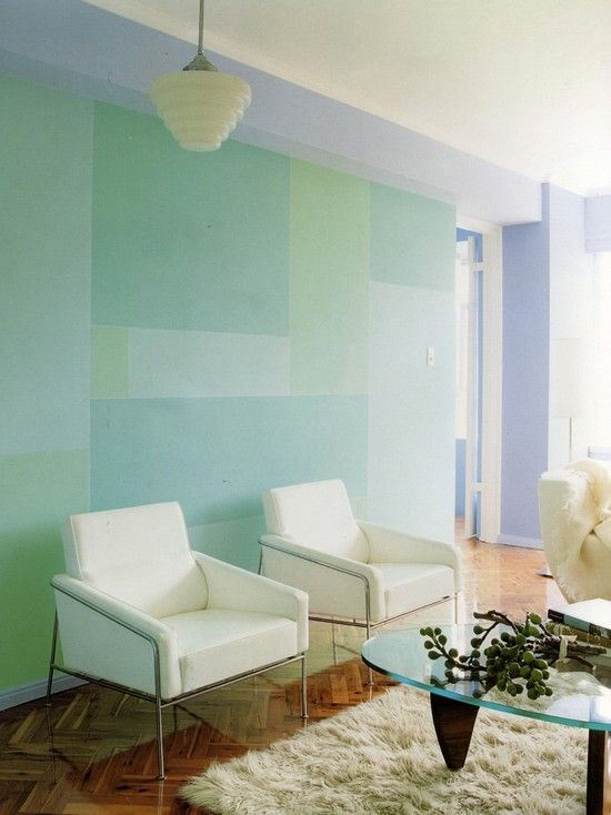 Awesome Graphic Design Wall Decals Idea: Contemporary Wall Painting Idea  For Your Living Room ~