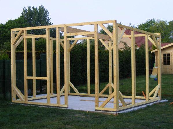 comment fabriquer un abri de jardin en bois les cabanes | Fashion ...