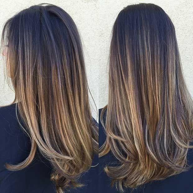 47 Stunning Blonde Highlights For Dark Hair Stayglam Brown Hair With Blonde Highlights Brown Blonde Hair Balayage Brunette