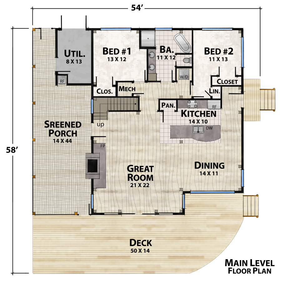 Green River Farm Plan Details Natural Element Homes Log Home Floor Plans House Plan With Loft Cabin Floor Plans