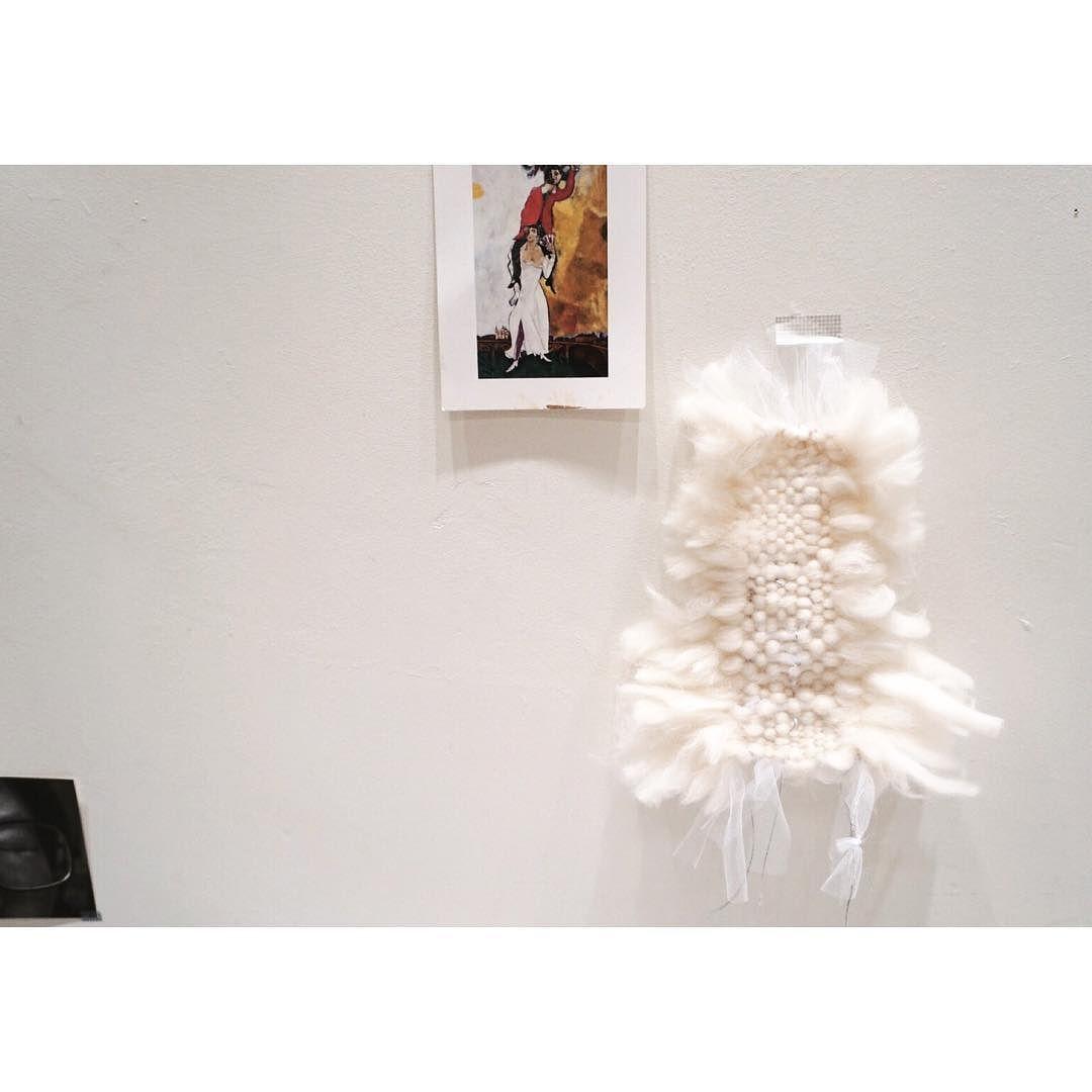 Blanc Blanc . . . #weaving #handwoven #handmade  #textile #artobject #elee #위빙 #직조