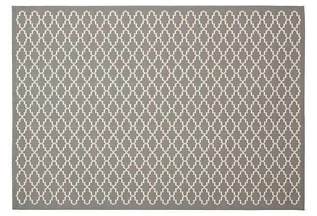 Greer Outdoor Rug, Gray on OneKingsLane.com fromEverything Outdoors