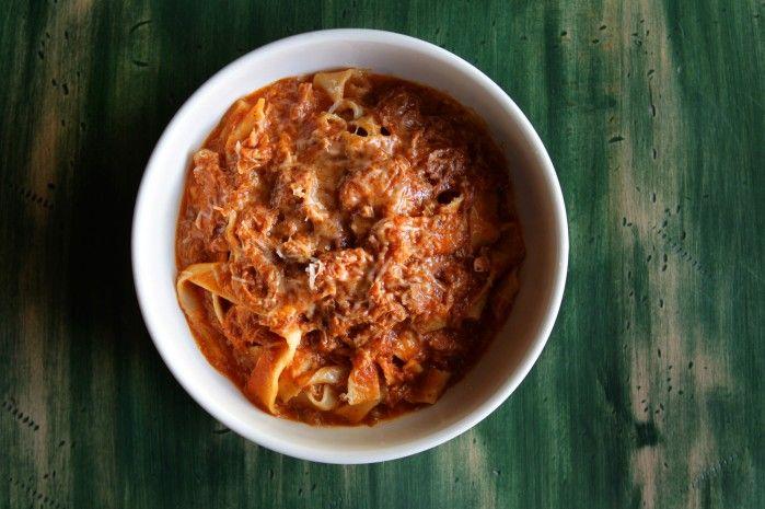 Mad Tomato's pork ragu recipe