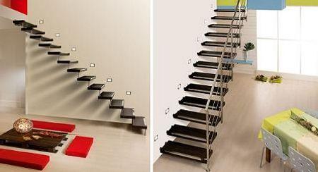Tipos de escaleras para casas peque as buscar con google - Tipos de escaleras para casas ...