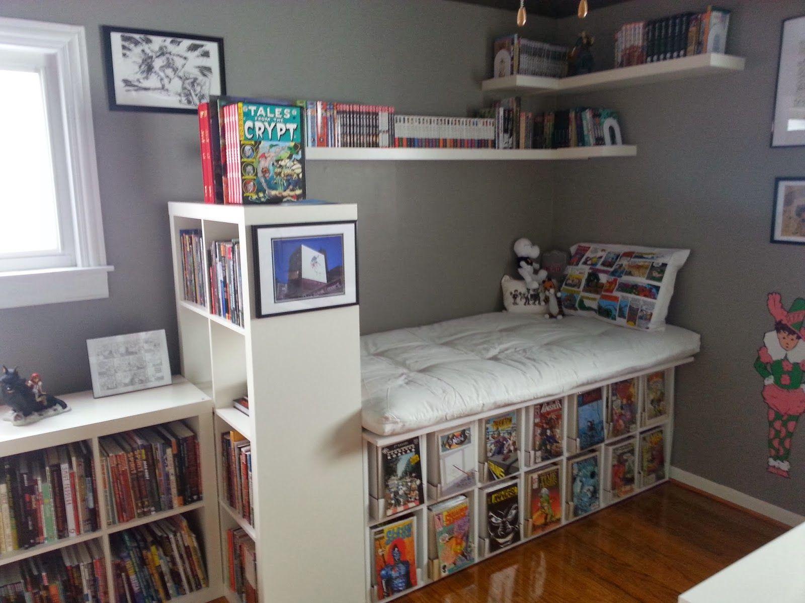 Fullsize Of Comic Book Shelves