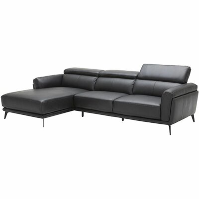 Orren Ellis Hazard Contemporary Upholstered Modular Sectional Upholstery Color Black Orientation Left Hand Fa Modular Sectional Sectional Left Facing Chaise