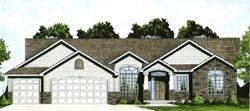 Traditional House Plan 3 Bedrooms 2 Bath 1587 Sq Ft Plan 25 142