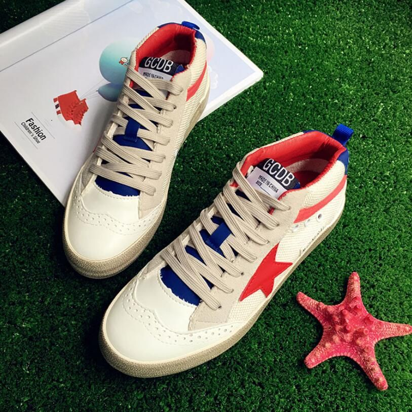 {D&H}Brand Womans Shoes   RETRO STYLE Women Casual Shoes Discount Do the old Star Breathable Flat With Shoes tenis feminino