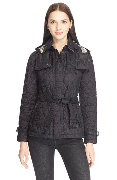 Burberry Brit Finsbridge Short Quilted Jacket Available At Nordstrom Fashion Design Clothes Quilted Jacket Nordstrom Outfit