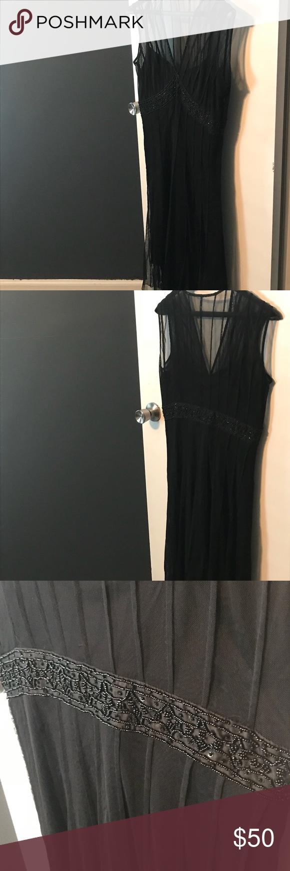 Eci New York Size 6 Dress Euc Size 6 Dress Eci Dress Sheer Dress