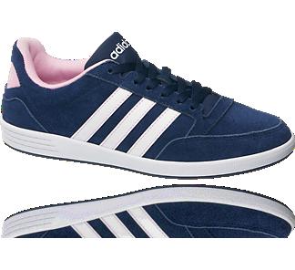 Sneaker HOOPS VL W LOW von adidas neo label in blau ...