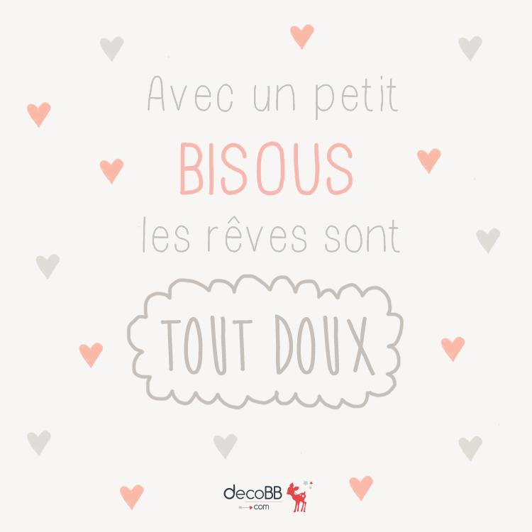 Avec Un Petit Bisous Les Reves Sont Tout Doux Petit Bisou Reve Bisous