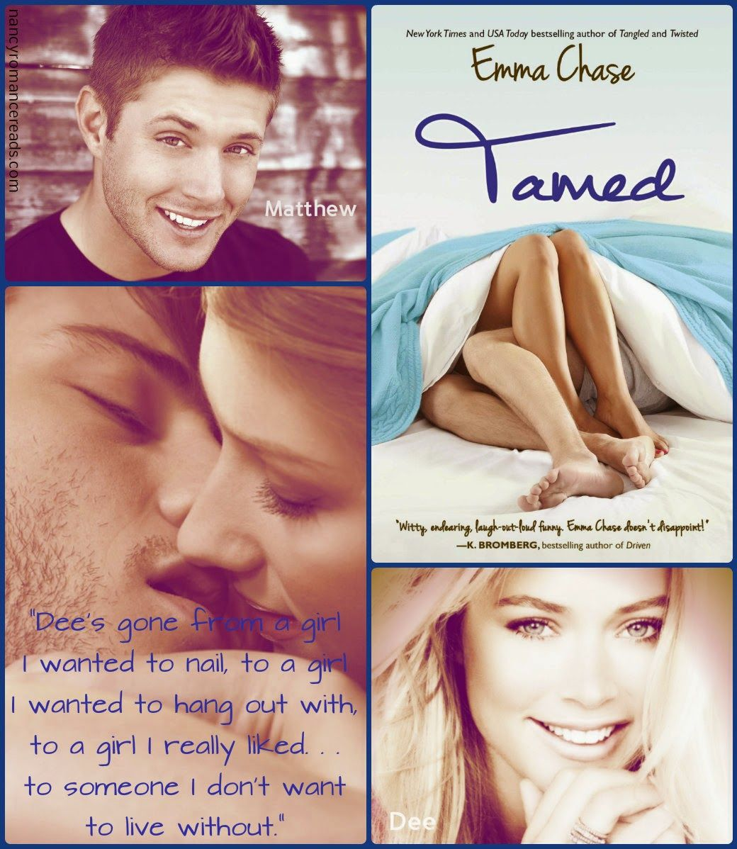 Nancy's Romance Reads: Book Review: Tamed By Emma Chase