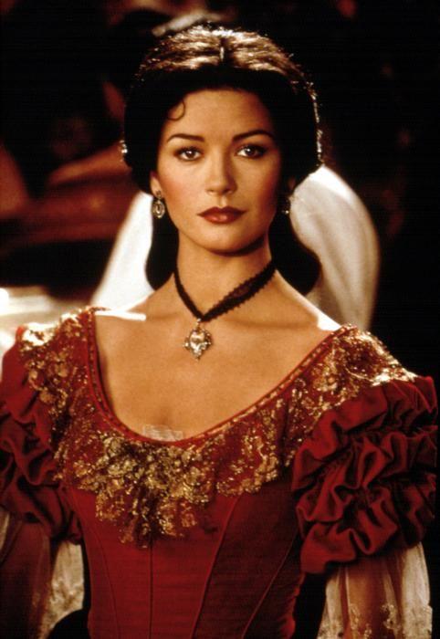 Red antique dress | An... Catherine Zeta Jones Movie