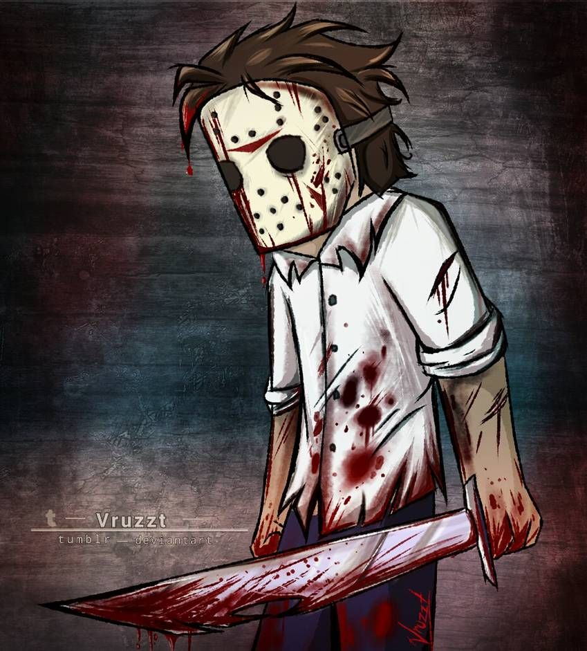 Happy friday the 13th ):D by Vruzzt on DeviantArt in 2020 ...