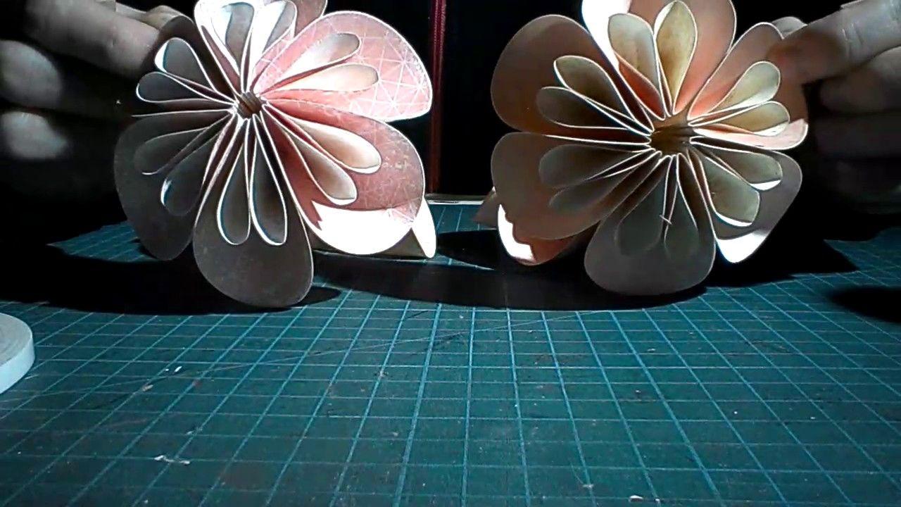 Kusudama Flower Ball Tutorial Papercraft Pinterest Flower Ball