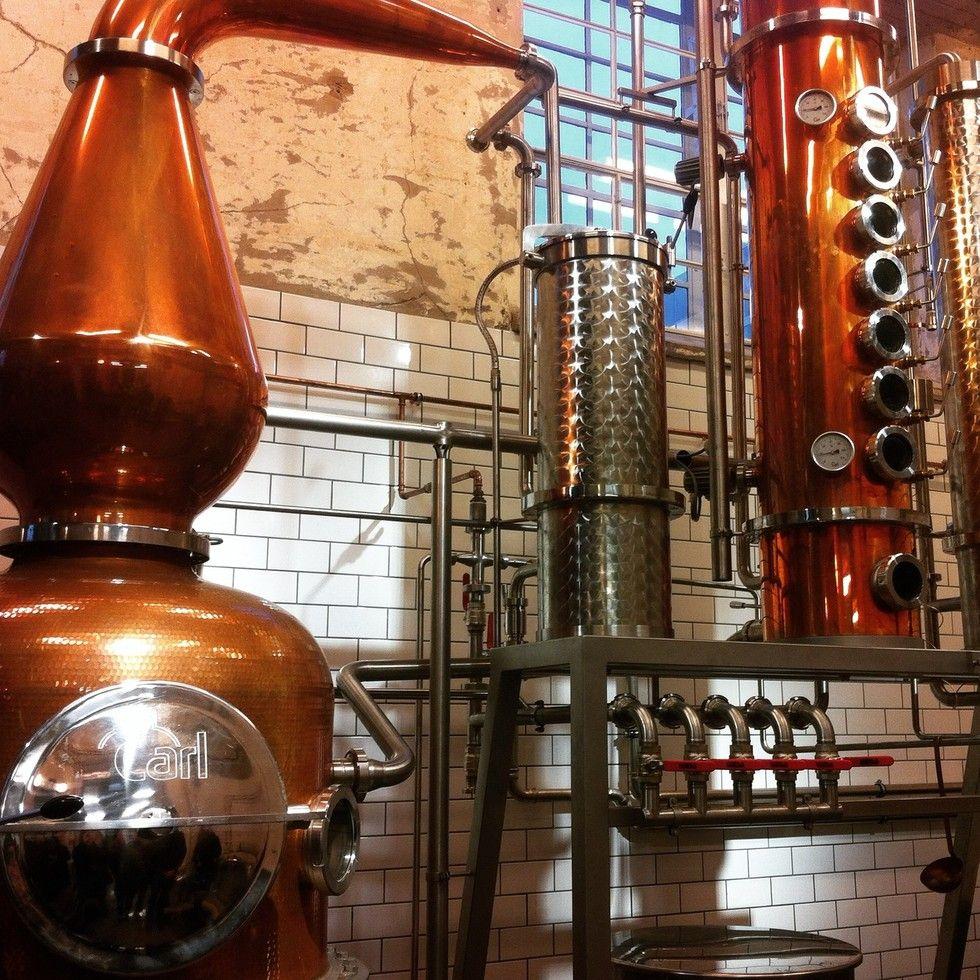 Tislaamobaaria odotellen – kierros The Helsinki Distilling Companyssa - (pikkuseikkoja)   Lily.fi