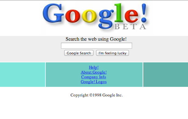 What the Web Looked Like Before Google - The Atlantic