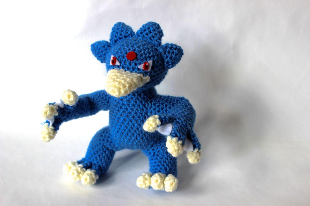 055 Golduck crochet | Fabric Crochet Pokemon | Pinterest | Kreis ...