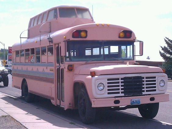 School Bus Pink: