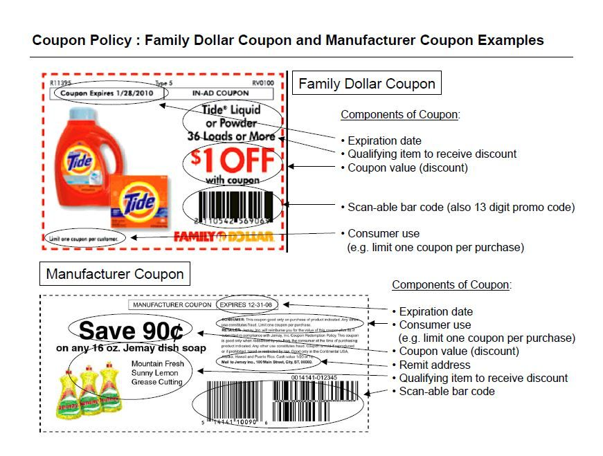 Family Dollar Coupon Policy Family Dollar Coupons Family Dollar Liquid Tide