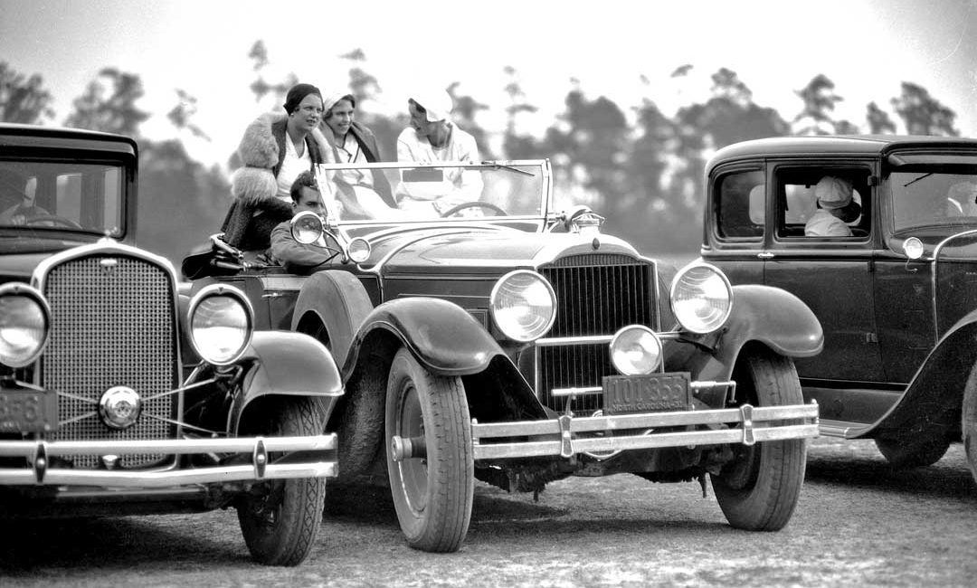 1929 Packard at a Pinehurst Country Club Men\'s Polo Match | The Old ...
