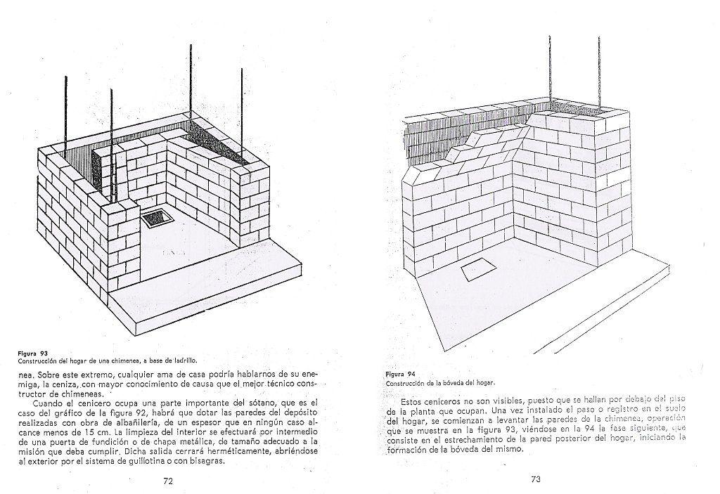 Como construir una chimenea de obra chimeneas de obra for Hacer planos facil