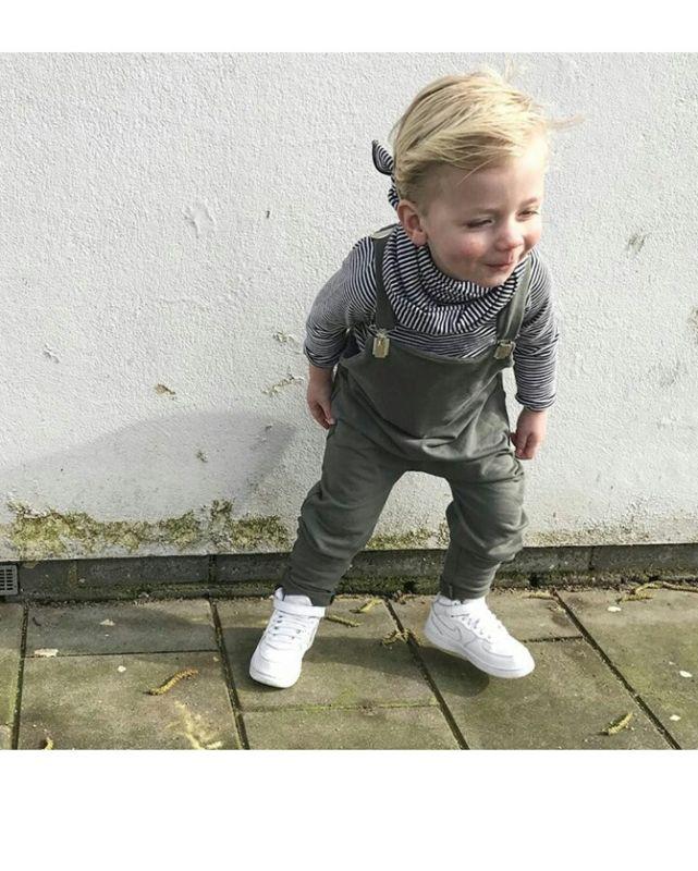 Kinderkleding Stoer.Salopette Daphne Vos Uniek Handgemaakt Apart Stoer Kinderkleding