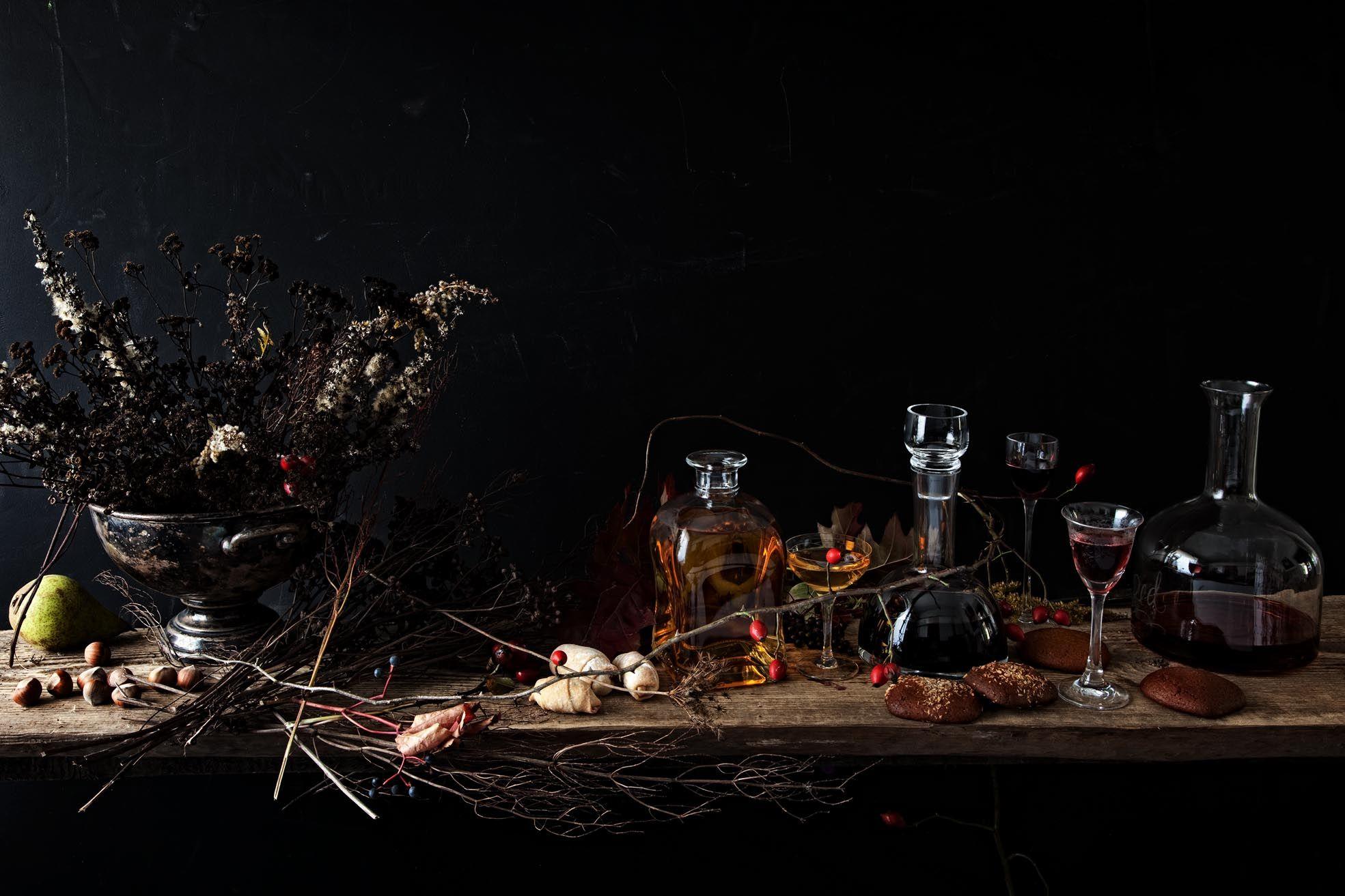 photo dinnershow studio, stylist Eliza Morawska Still life