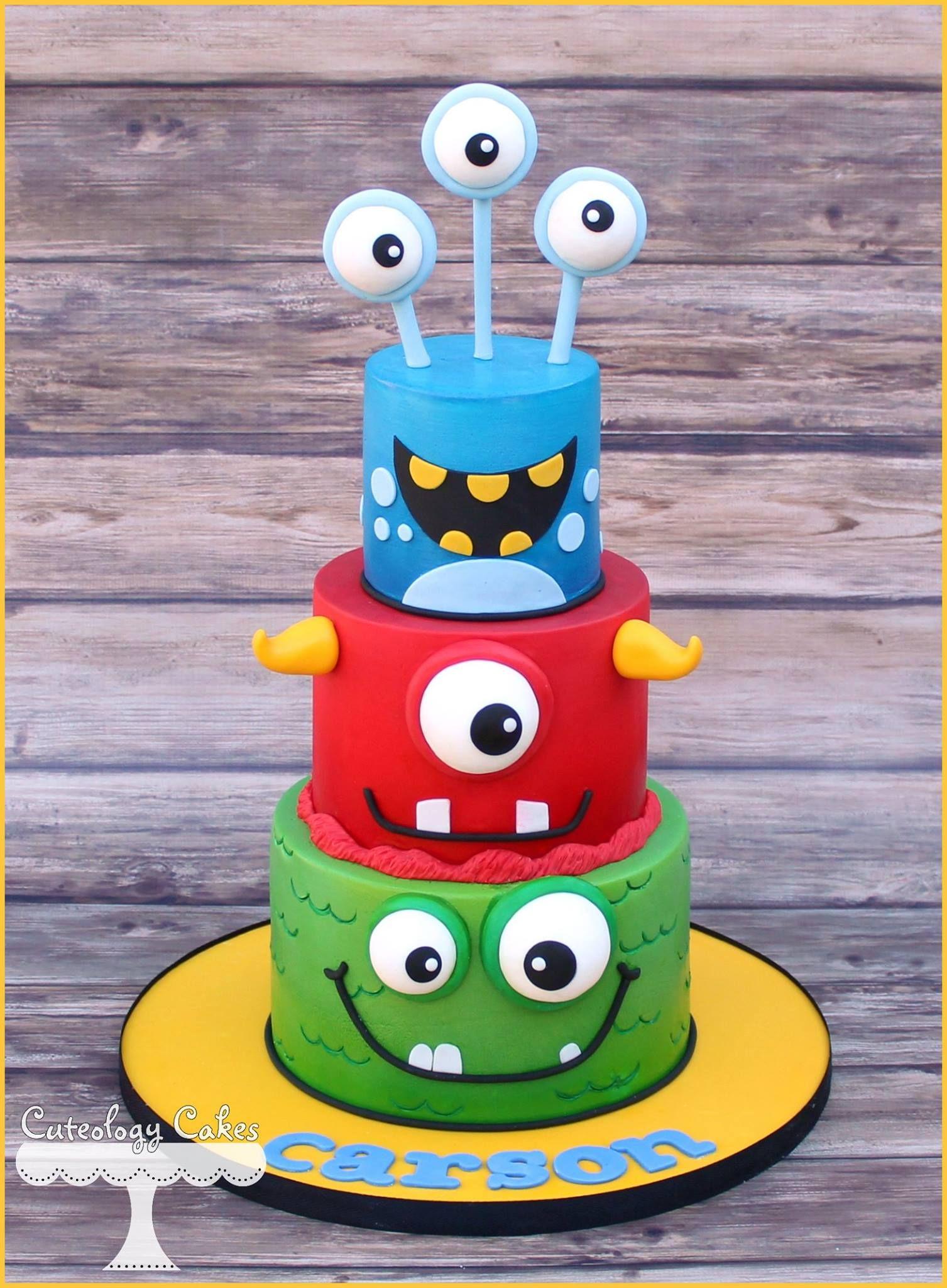 42+ Cake monster ideas