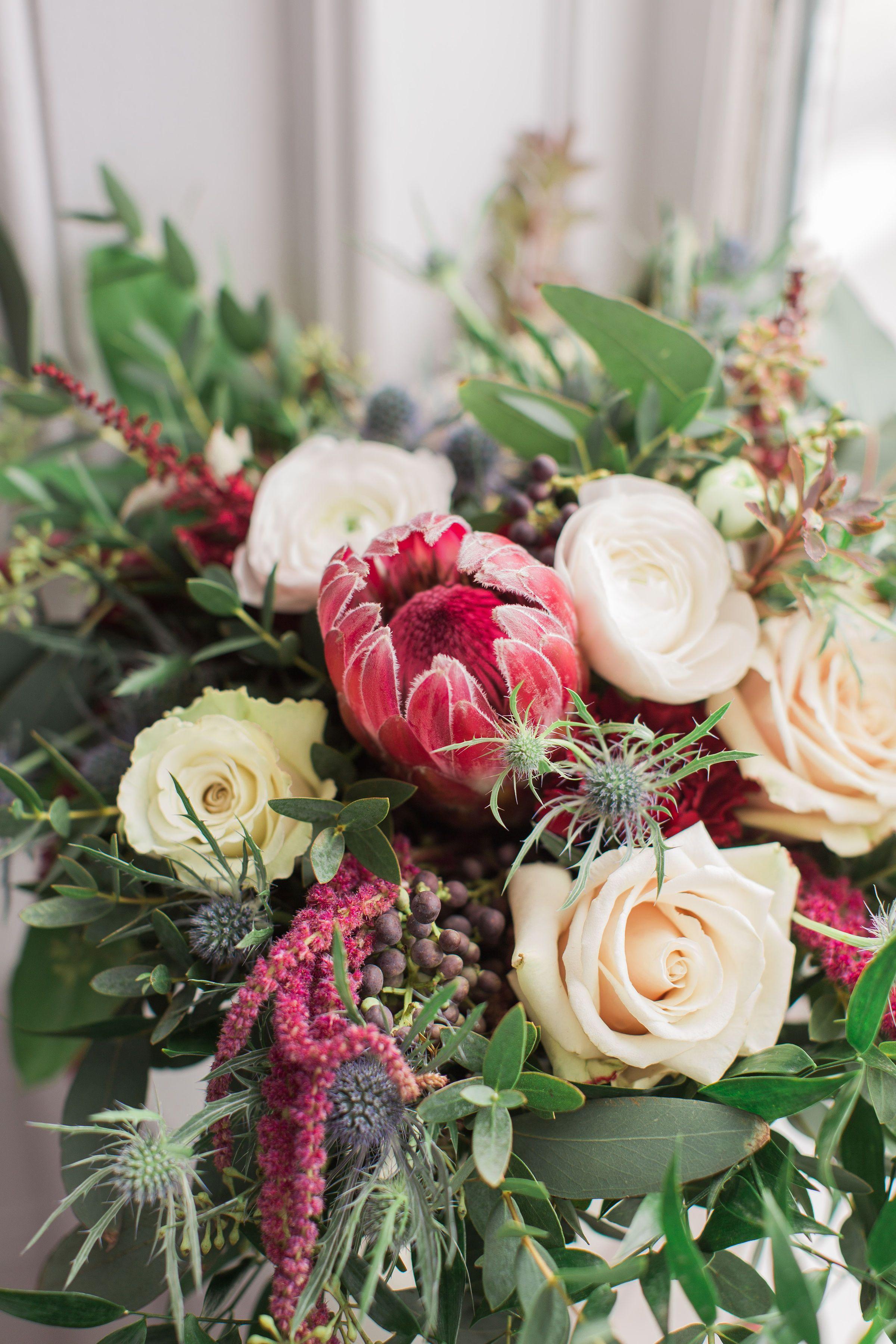 Aquatopia Conservatory Unique Wedding Venue Greenhouse Ottawa Canada Brittany Lee Photography Rose Bridal Bouquet Bridal Bouquet Fall Bridal Bouquet