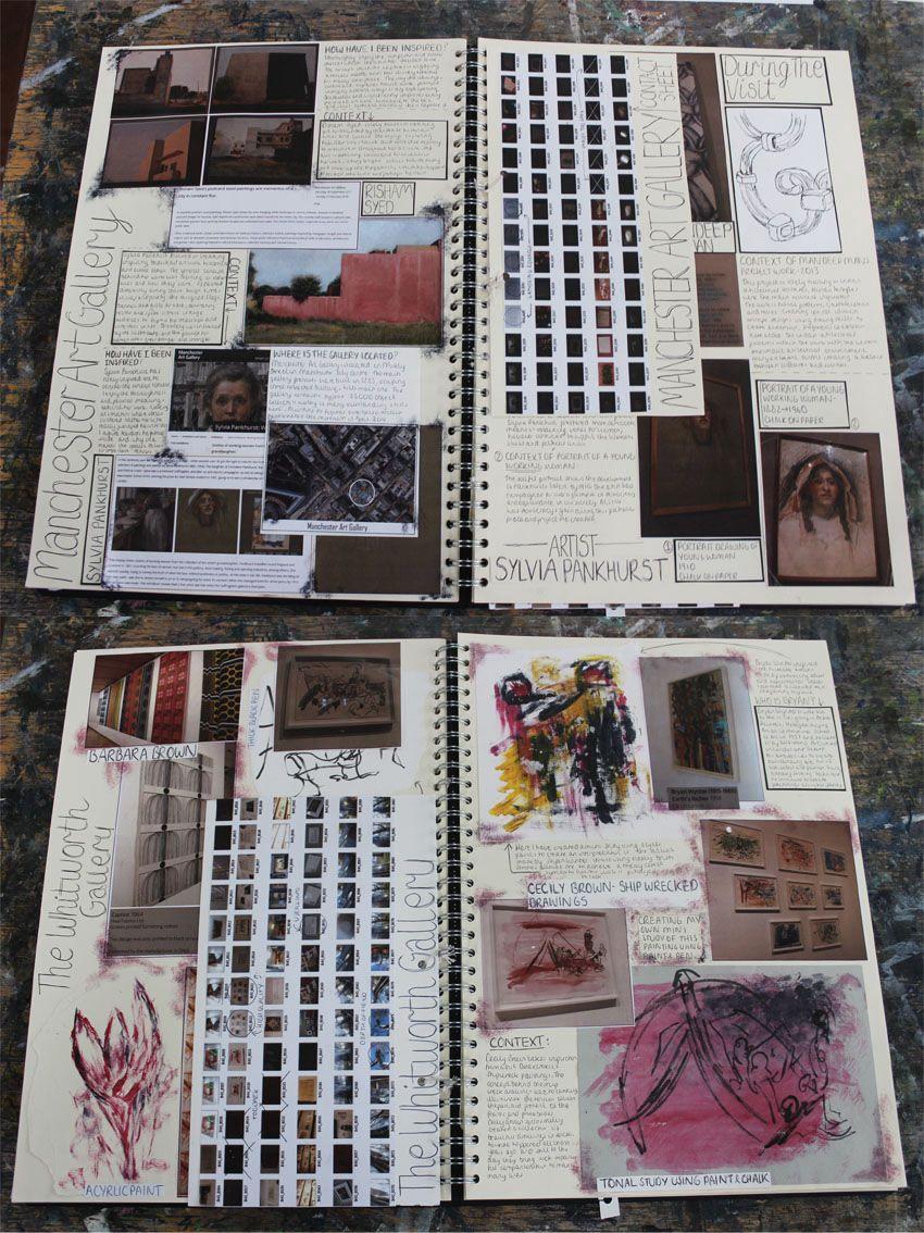 Al Fine Art A3 Sketchbook Trip Planning Visit