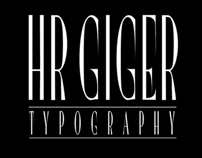 HR GIGER free font by JuanJo Rivas del Rio