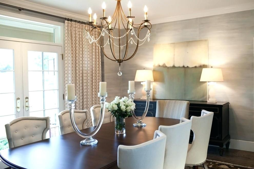 Beautiful Chandelier Ideas For Dining Room Design With Images