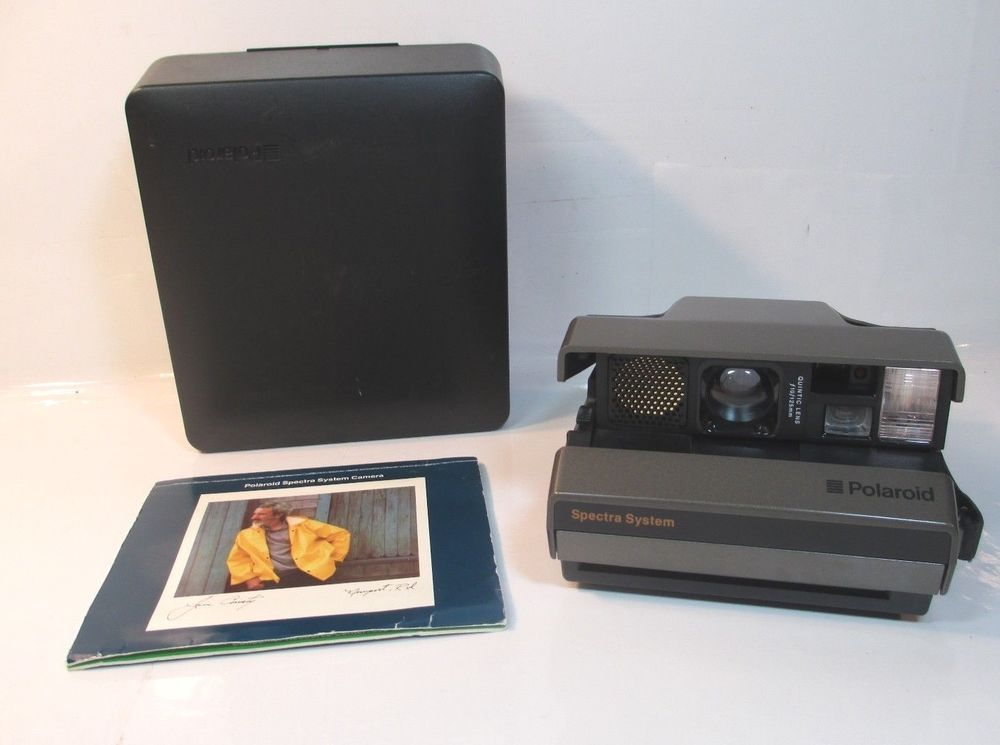 vintage polaroid spectra system instant camera manual and hard rh pinterest com polaroid spectra system user manual polaroid spectra se manual pdf