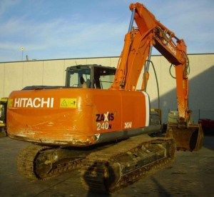Hitachi Zaxis 240n-3 Hydraulic Excavator Repair Service Manual