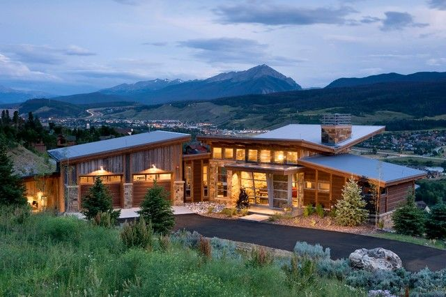 17 Most Magnificent Mountain Dream Houses Mountain Home Exterior House Exterior Rustic Houses Exterior
