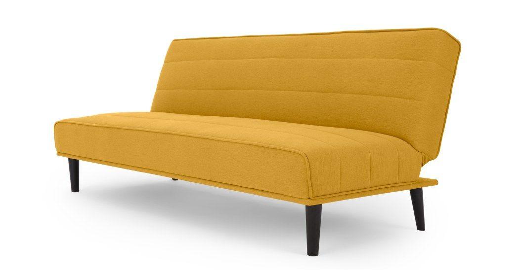 Made Butter Yellow Sofa Bed Sofa Bed Sofa Shop Sofa