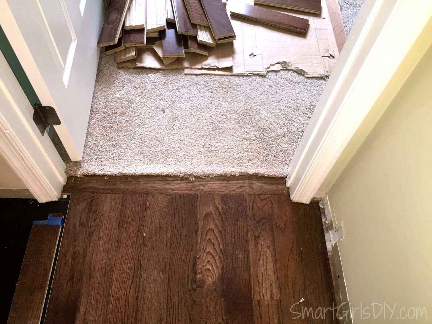 All about The New Wood Flooring throughout Our House! in