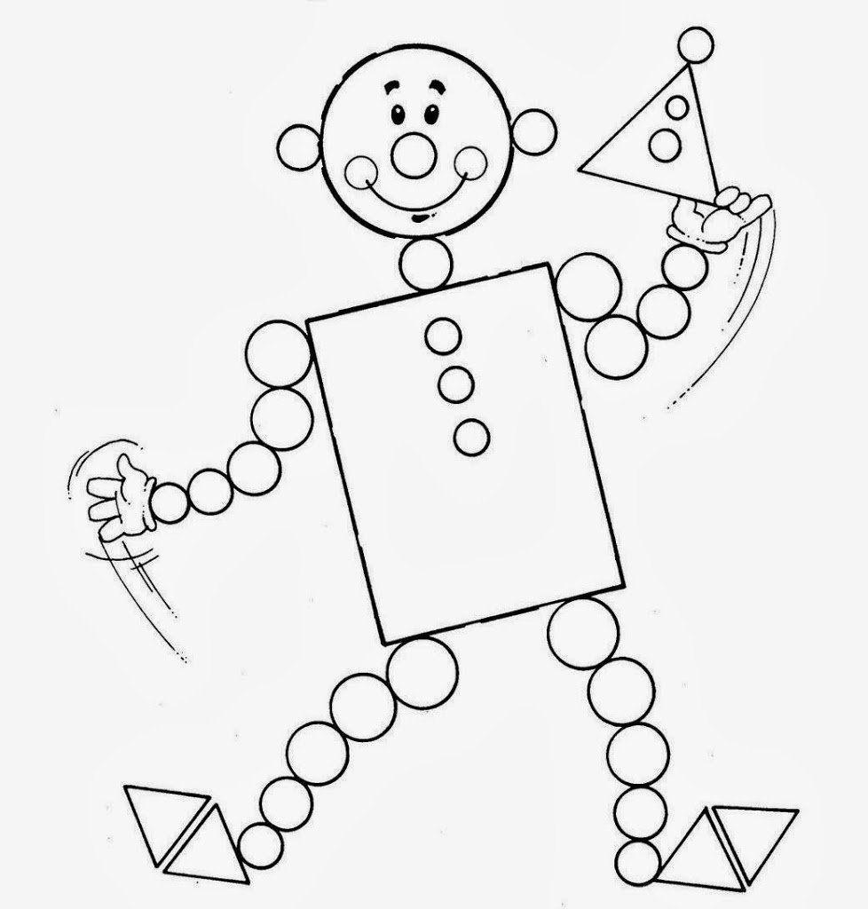 Los dibujos con figuras geomtricas para nios les sirve para