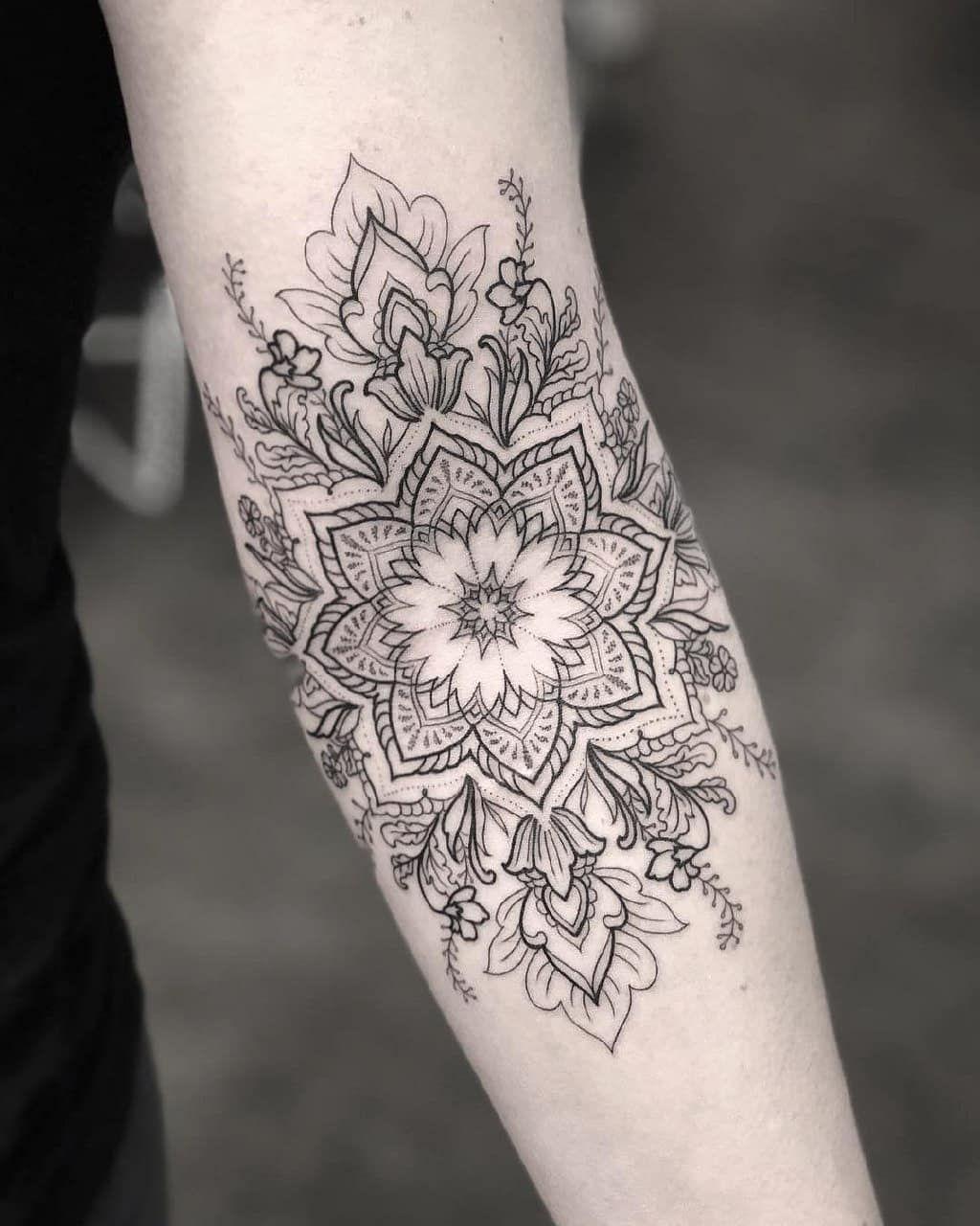 """TATTOO GALLERY on Instagram: """"❇ #tattoo #tattoos #tattooed#tattooart #dövme #tattoogirl#dotwork #tattooboy #inktattoo #mandala #tattoomodel#tattoolove #ink #instatattoo…"""""""