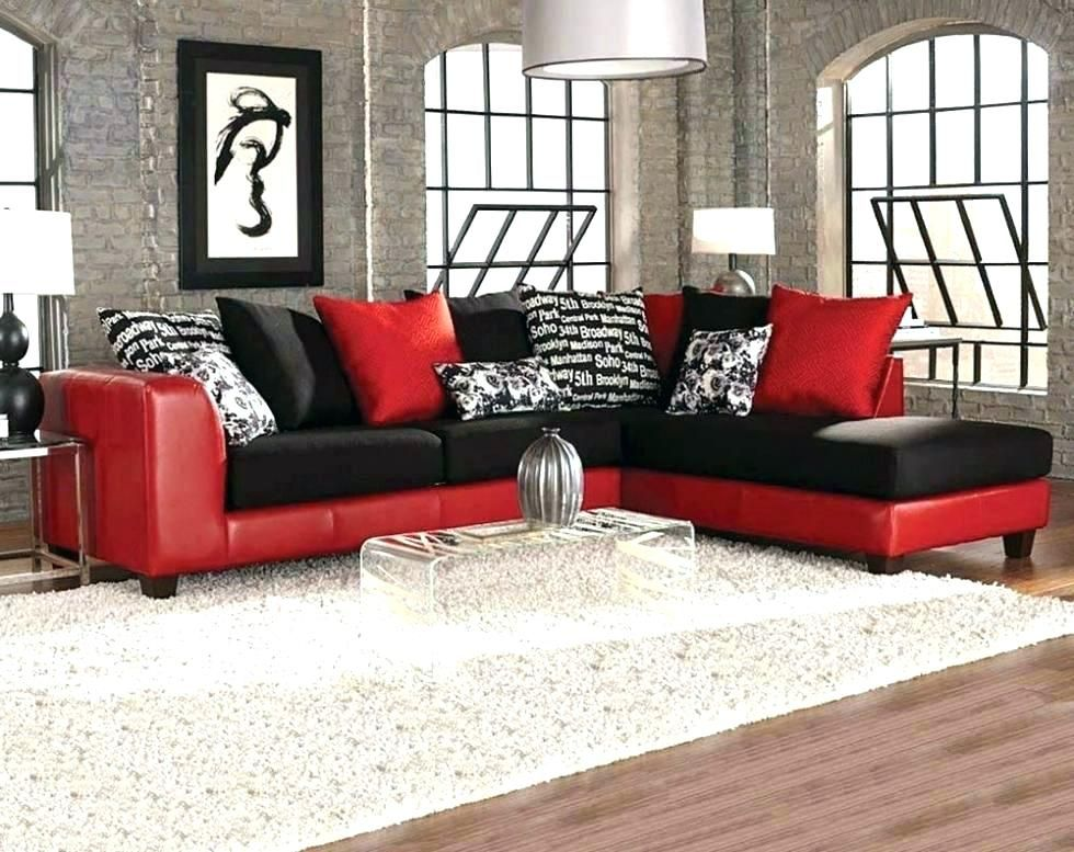 Cheap Black Sectional Sofas Red Sectional Sofa Sofa Home