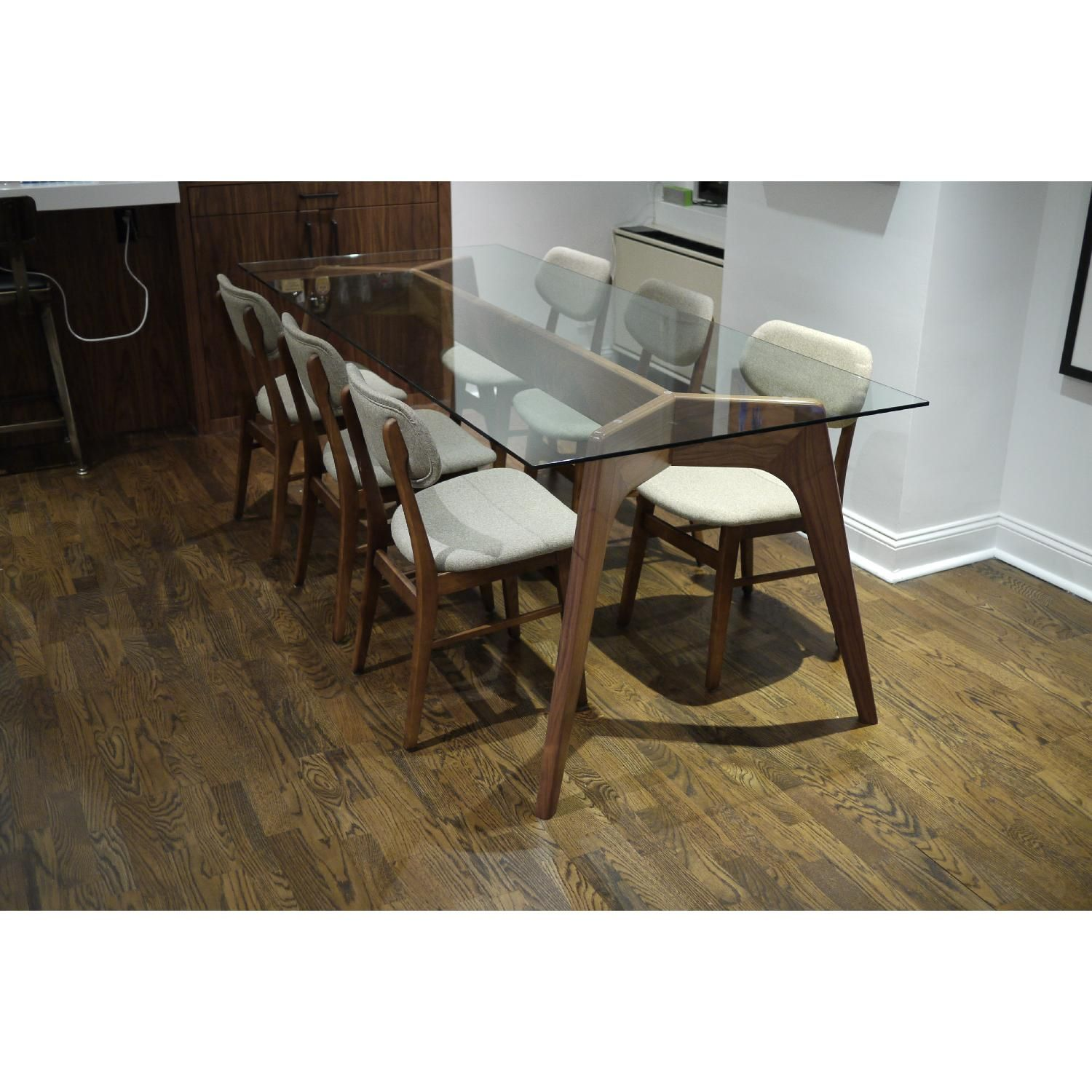 Used Joybird Hesse Dining Table With For Sale In Nyc Aptdeco