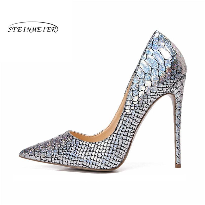 07f04ebfa88 2019 women pumps high heels Wedding Party Shoes silver High Heel Sexy  Spring Women Shoes Pointed Toe Women Pumps