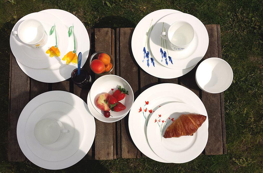 Picknicken Im Sonnenschein Mit Dibbern By WEITZ! Das Fine