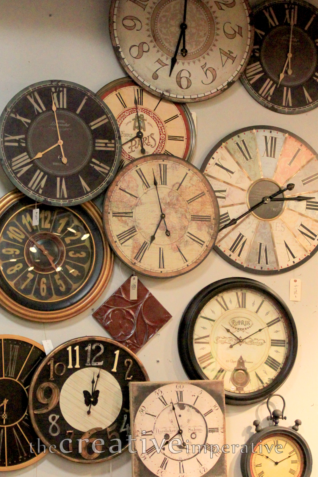 Collections Of Clocks I Like Wall Decor Pinterest Clocks