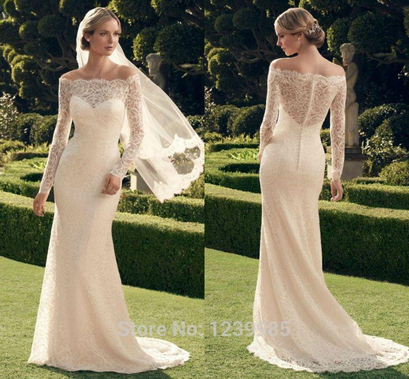 Aliexpress.com: Comprar 2015 nueva moda vestido de boda Casablanca ...