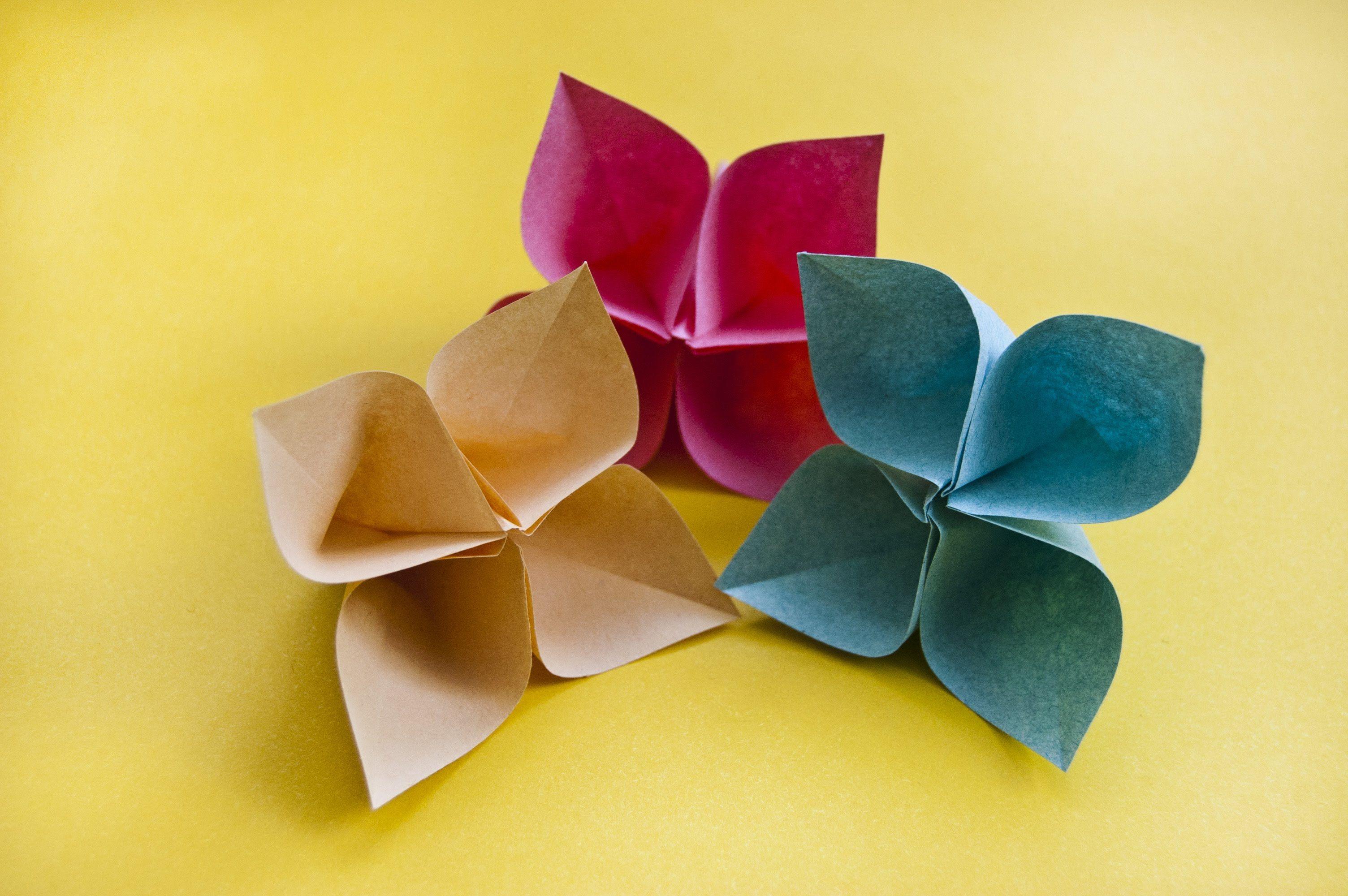 Peper Flowers Origami Flower Fiori Pinterest Origami Paper