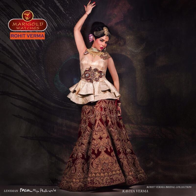Fashion Designer Rohit Verma Bridal Collection Fashion Fashion Design Bridal Collection