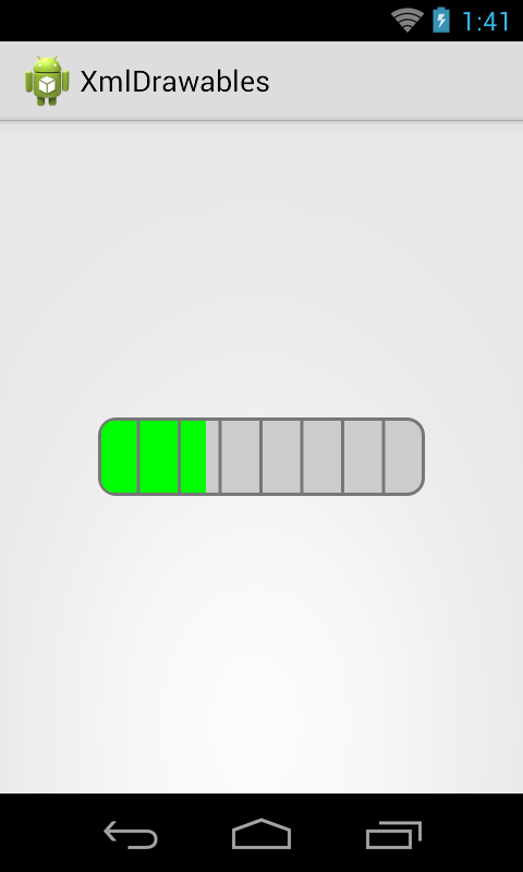 Android custom horizontal progressbar | Programming Slang